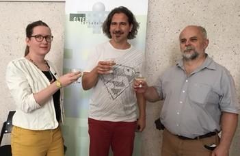 Gratulálunk Kiss Zsuzsinak és Takács Árpádnak!