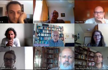 Online workshop Prof. Hannes Siegristtel és a Replika-blokk bemutatója