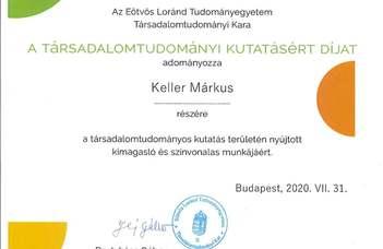 Gratulálunk Keller Márkus csoportvezetőnknek!